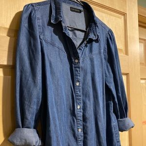 Silver Jeans Co Denim Button-Up, Size Medium
